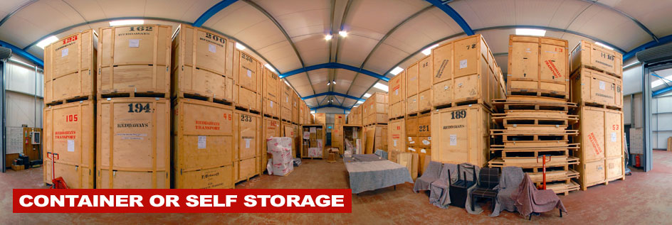 Container and self storage in North Devon