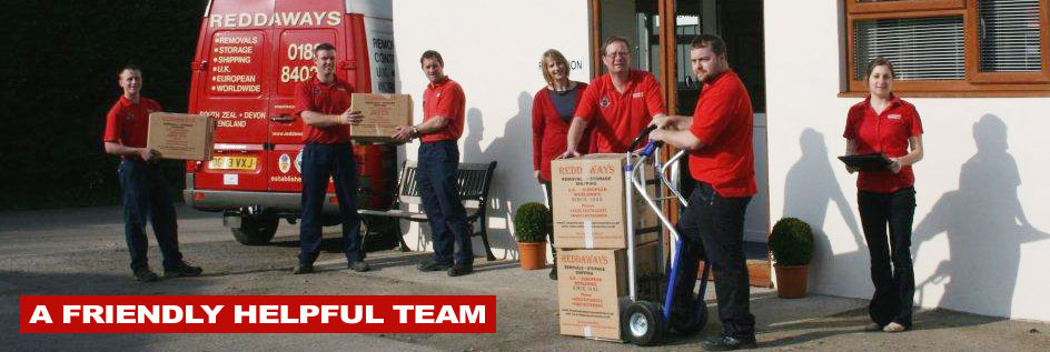 Friendly local removal company offering UK, European and International removals
